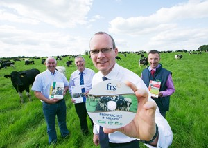 Minister Coveney launching Milking course at MSJ with FRS Teagasc and AHI LOW RES