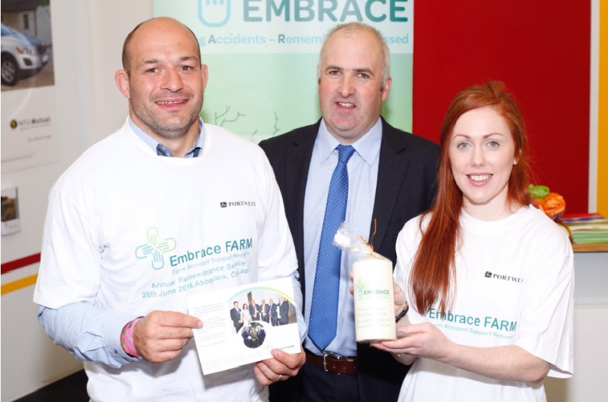 Rory Best & Sinead McLaughlin - Balmoral Show 2016