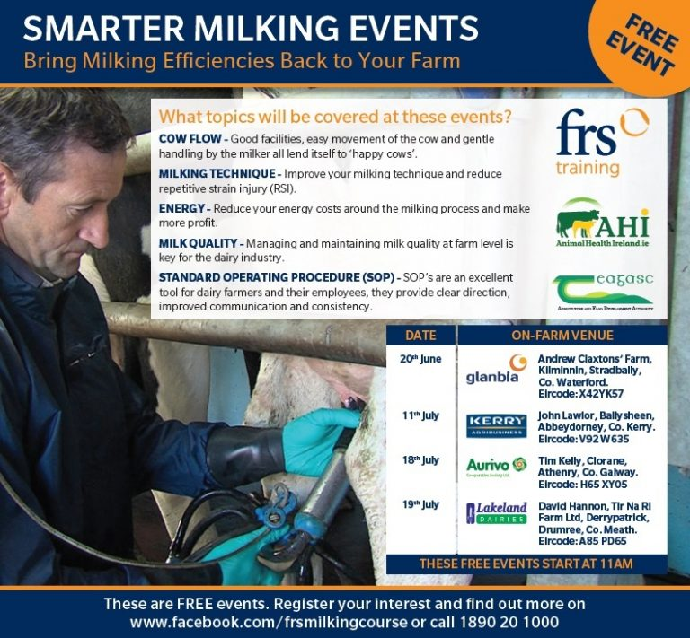 News: Free Smarter Milking Events throughout the country