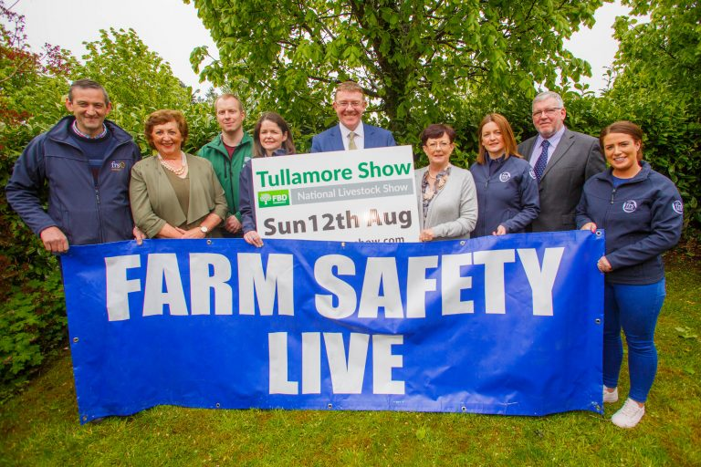 Mairead McGuinness to Officially Open Farm Safety Live at the Tullamore Show