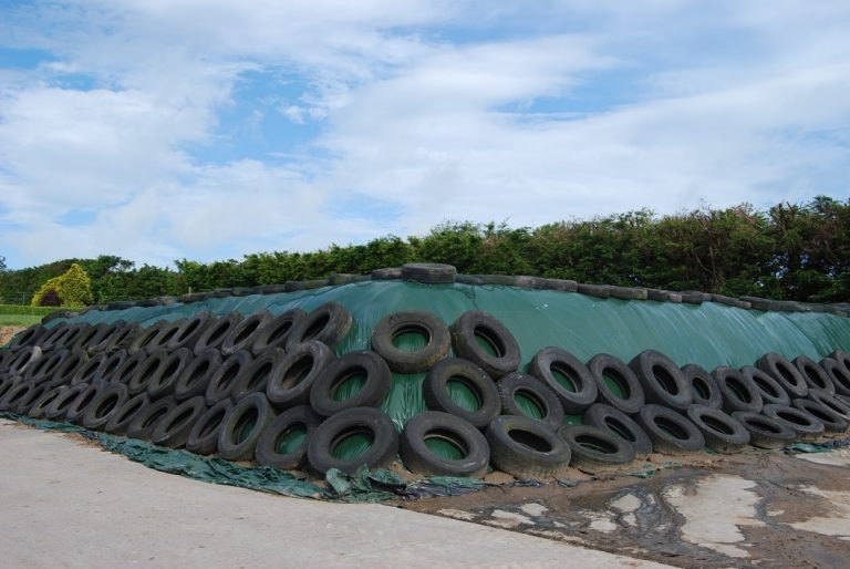 Read more about the article Safety Comes First When Covering Silage Pits